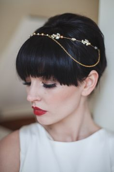 Art Nouveau Bride: Delicate Gold and Intricately Embellished Wedding Accessories | Love My Dress® UK Wedding Blog