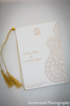 Photo of: indian wedding traditional stationary | MaharaniWeddings.com Invitations and event stationary: Aayancreations.com