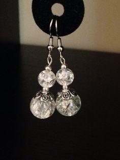 Lovely Crystal Earrings on Etsy, $10.00