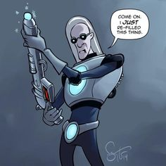Mr. Freeze by Nate Taylor for @Sketch_Dailies