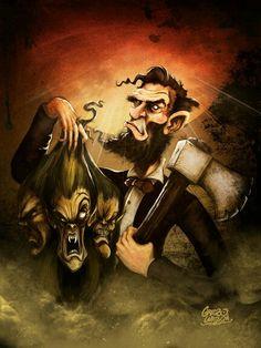 Grebo.com Abraham Lincoln vampire hunter.