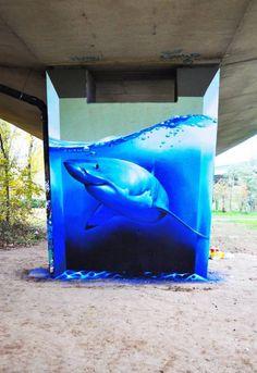 ¿Quien dijo que todo el arte callejero es vandalismo? - Taringa!