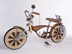 Custom Wood Bicycle
