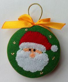 Handmade Christmas Decorations, Felt Decorations, Felt Christmas Ornaments, Christmas Art, Felt Crafts, Holiday Crafts, Ornament Template, 242, Christmas Sewing