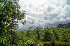 aufziehender Monsun in Thailand as a canvas print Thailand, Canvas Prints, Mountains, Nature, Travel, Heavens, Landscape, Canvas, Plants