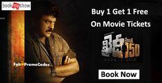 #khaidino150 : Buy 1 Get 1 Free Movie Tickets Hurry up.!!
