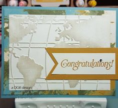 A World of Congrats by Drummergirlred - Cards and Paper Crafts at Splitcoaststampers