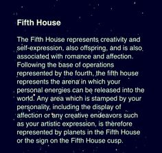 (astrology) (5th house)  Fifth House. #Astrology For more Zodiac related posts, please check out my FB page:  https://www.facebook.com/TheZodiacZone
