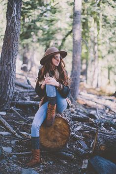 up in the woods bohemian girl