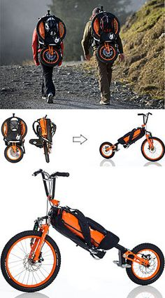 Folding Bike Bag by Bergmonch