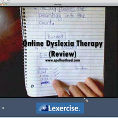 Lexercise Online Dyslexia therapy, a review by @Maureen Spell