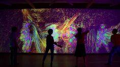 Ineractive video-installation and dance performance in GARAGE CENTER FOR CONTEMPORARY CULTURE  Artist: Sodazot (Igor Tatarnikov) Programmer: Denis Perevalov Producer: Ksenia Lyashenko Music: Ilya Orange Dancers: Jack's Garret Production: Kuflex.com