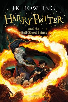Here are the new UK Harry Potter covers you won't be able to buy. - Harry Potter's publisher, Bloomsbury, announced a new line of covers for the book series. - 'Harry Potter and the Half Blood Prince' - new Bloomsbury cover by Jonny Duddle