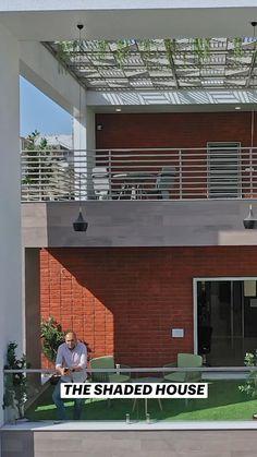 Home Garden Design, Terrace Design, Home Interior Design, House Design, Modern Interior, House Architecture Styles, Residential Architecture, Interior Architecture, Modern House Floor Plans