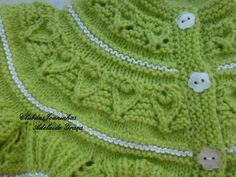 casaco verde corações 1
