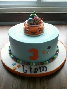 Team Umizoomi Cakes by Erin Salerno