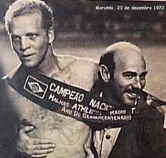 Palmeiras vence o Campeonato Brasileiro, 1972.