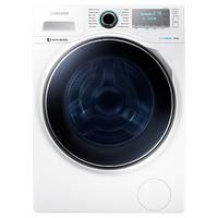 Samsung Freestanding Washing Machine, Load, A+++ Energy Rating, Spin, White Laundry Appliances, Home Appliances, Washing Machine, Drums, Bubble, Samsung, Spin, Bathroom Ideas, Drum
