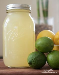 Homemade Electrolyte Energy Drink- you will never want to buy Gatorade again after making this.