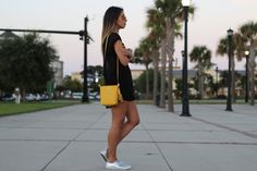 #forever21 shorts and top, #coach shoes and bag