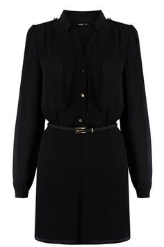 Black playsuit for just $25! #playsuit #black