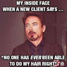 Hair salon humor .. Please!!?!?!!