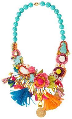 Ranjana Khan Stone Embellished Necklace