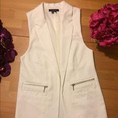 Sleeveless Blazer Paper tee sleeveless blazer. Brand new! Jackets & Coats Blazers