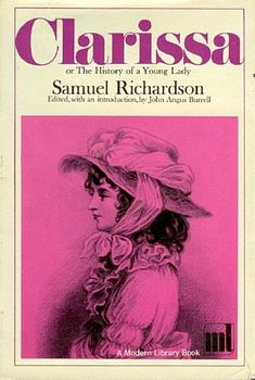 Clarissa, or, the History of a Young Lady is an epistolary novel by Samuel Richardson, published in 1748. It tells the tragic story of a heroine whose quest for virtue is continually thwarted by her family, and is one of the longest novels in the English language.
