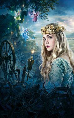 .Beautiful Aurora *Elle Fanning*