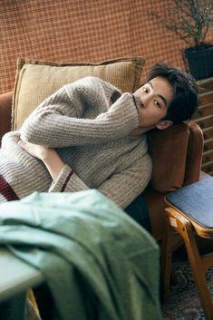 Exclusive: Men's New Ultra-soft Angora Sweaters Kim Joo Hyuk, Nam Joo Hyuk Cute, Jong Hyuk, Lee Jong Suk, Korean Star, Korean Men, Korean Face, Asian Actors, Korean Actors