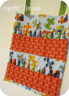 Hopeful Threads: Give Hope - Busy Bags
