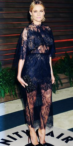 Look of the Day - March 3, 2014 - Diane Kruger in Valentino Couture from #InStyle