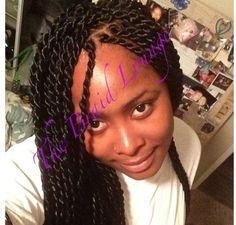 Senegalese twist done by The Braid Lounge