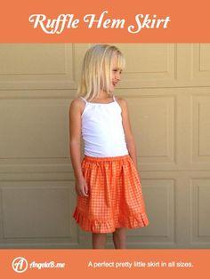 Ruffle Hem Skirt | Craftsy