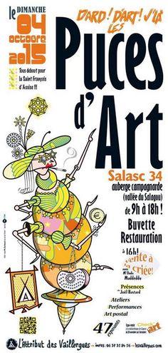 Salasc : 8ème édition des Puces d'Art