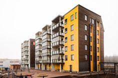 Ensimmäiset asukkaat muuttivat Kivistön asuntomessualueelle   Vantaan Sanomat