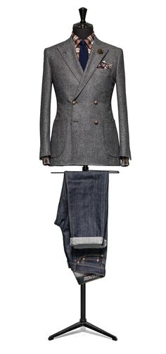 Grey suit Faux uni slightly brushed S100 http://www.tailormadelondon.com/shop/tailored-jacket-fabric-7807-plain-grey/