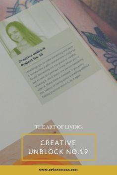 Creative unBlock: Project No.19