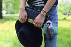 Chanel and the Nikaya gold cuff | A perfect blend of bold and organic | #TamaraKalanic