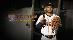 Big Dreams The Jose Altuve Story Baseball Batter, Together We Can, Dream Big, Athlete, Celebrities, Houston, Youtube, Kiss, Dreams