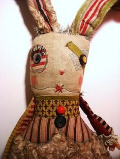 junker jane - I'm lucky enough to own several of Catherine's wonderfully wonky dolls, yay me!