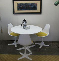 Mid Century Modern Vintage Burke Dinette Set Table By GreStuff 64500
