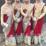 """44 Likes, 1 Comments - Moments (@moments__x) on Instagram: """"Red theme for Khushbu's wedding (5/04/17) 🌹 #sisters #sistersforever #sistergoals #quaduplets…"""""""
