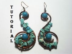 Spiral Earrings | JewelryLessons.com
