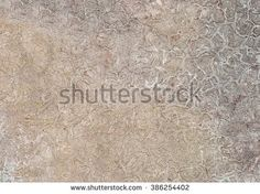 Abstract crackled texture background pattern in light gray, brown and white colors, with rambling disordered spheres.