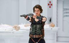 Desktop Backgrounds > Movies > Resident evil afterlife Milla Jovovich