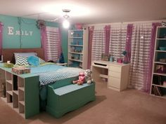 My sisters new room!