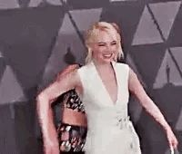 Jennifer Lawrence and Emma Stone at the 9th Annual AMPAS Governors Awards.