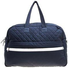 c3bc9ede19ce Chanel Luggage   Travel Bag - Navy Nylon Sport Line Front Zip Weekender  Nylon